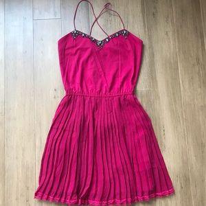 Victoria's Secret pink slip dress